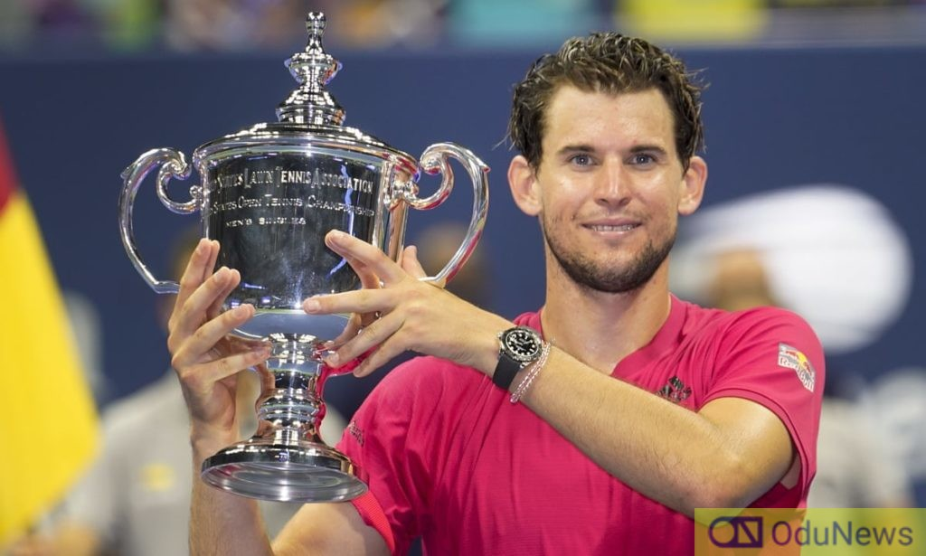 Dominic Them Wins First US Open Tittle