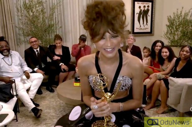 Emmys Award: 'Euphoria' Star Zendaya Becomes Youngest Winner Ever