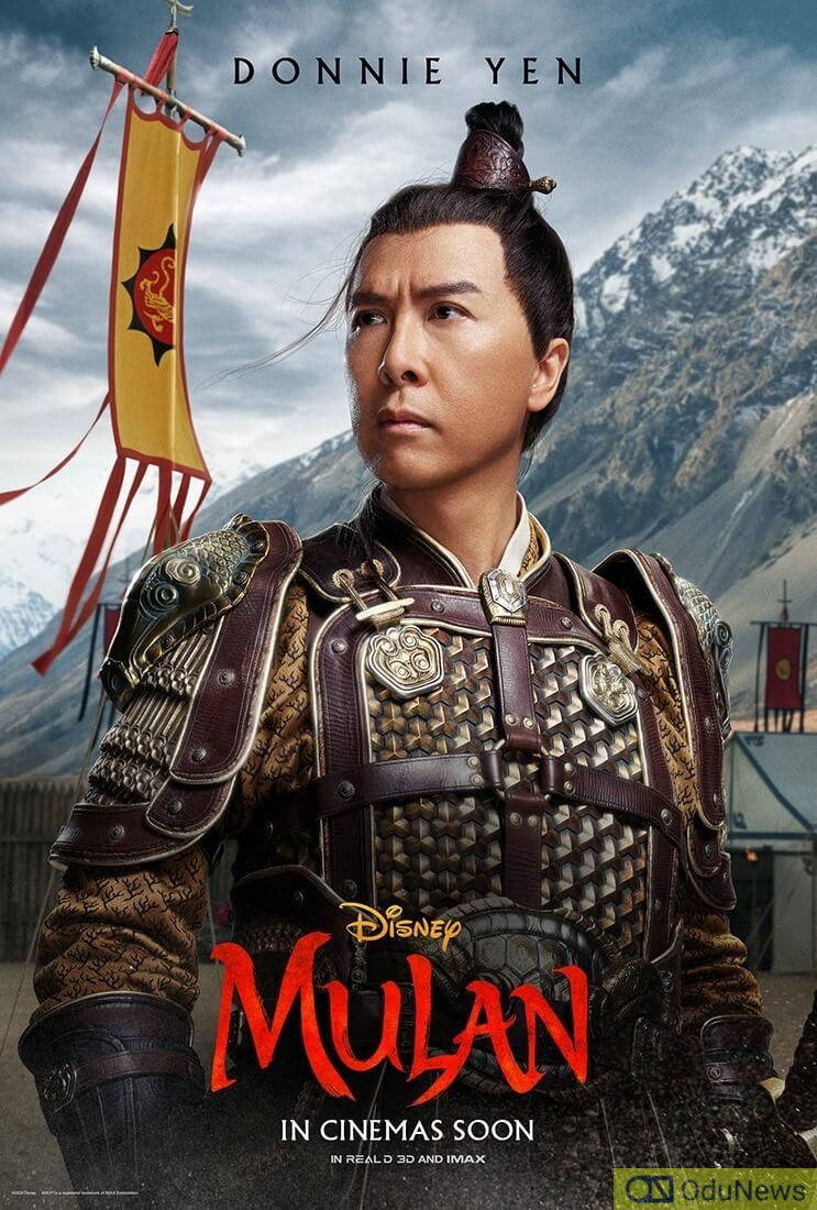 Donnie Yen in Mulan