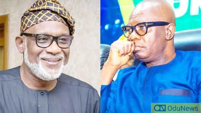 Akeredolu Snubs Ajayi As Candidates Sign Peace Accord