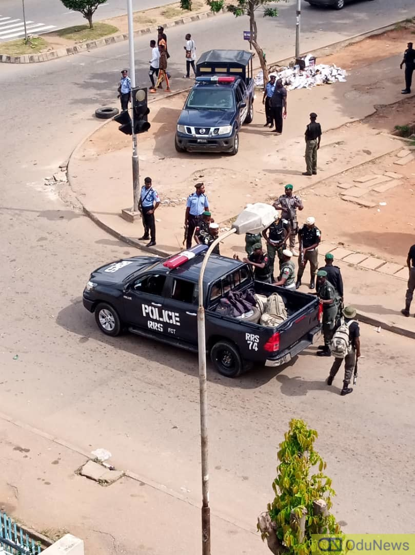 Hoodlums' Attempt To Break Into Abuja Warehouse For COVID-19 Foiled By Police