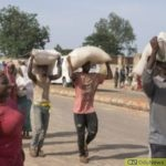 Indigenes Invade Warehouse In Yola, Cart Away COVID-19 Palliatives