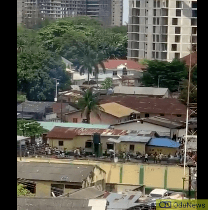 Ikoyi Prison On Fire, Prisoners On The Run