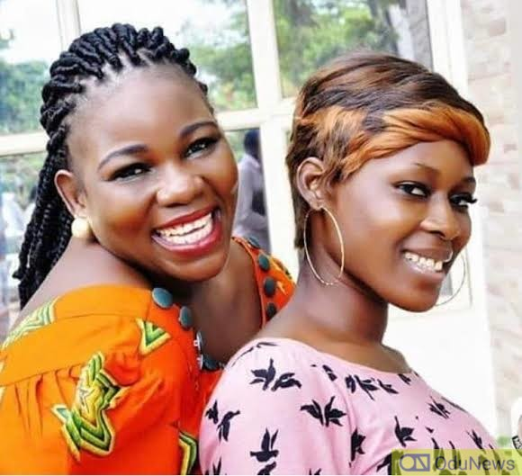 Ada Ameh and her daughter