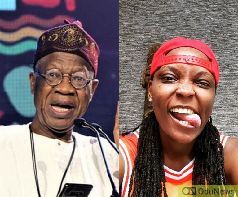 DJ Switch Is Fraud And She Will Be Exposed Soon - Lai Mohammed