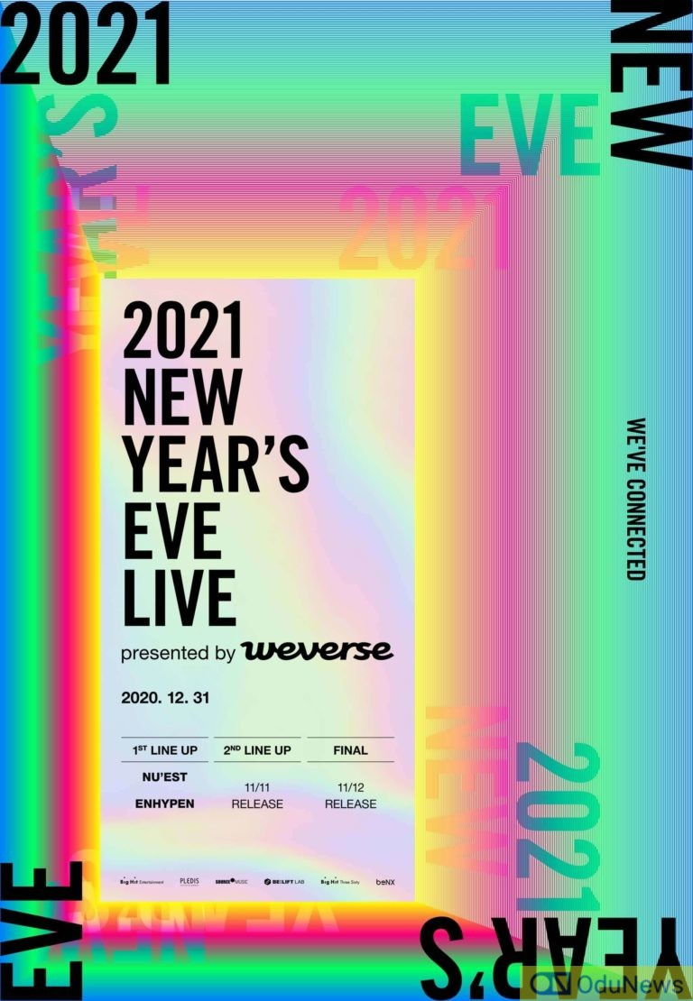 Big Hit Labels To Hold New Year's Eve Concert + NU'EST And ENHYPEN Announced As 1st Lineup