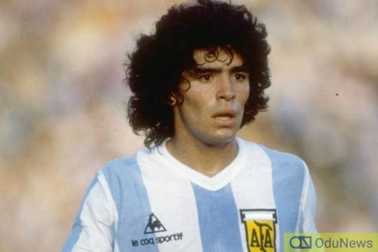 Argentina's Football Legend, Diego Maradona Dies At 60