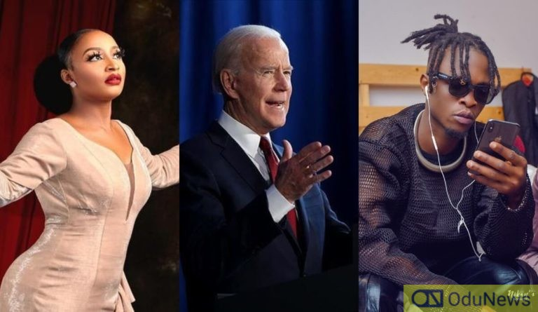 Joe Biden, Laycon, Rahama Sadau Among Most Google-Searched People In 2020
