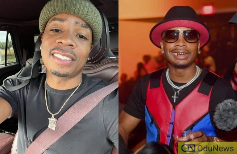 US Rapper, Plies Buries His Gold Teeth In His Backyard