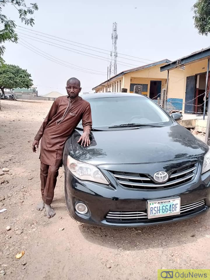 Police Arrest Suspected Armed Robber In Abuja, Recover Stolen Vehicle