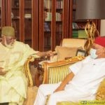 Senator Orji Uzor Kalu Meets Privately With Abdulsalami Abubukar