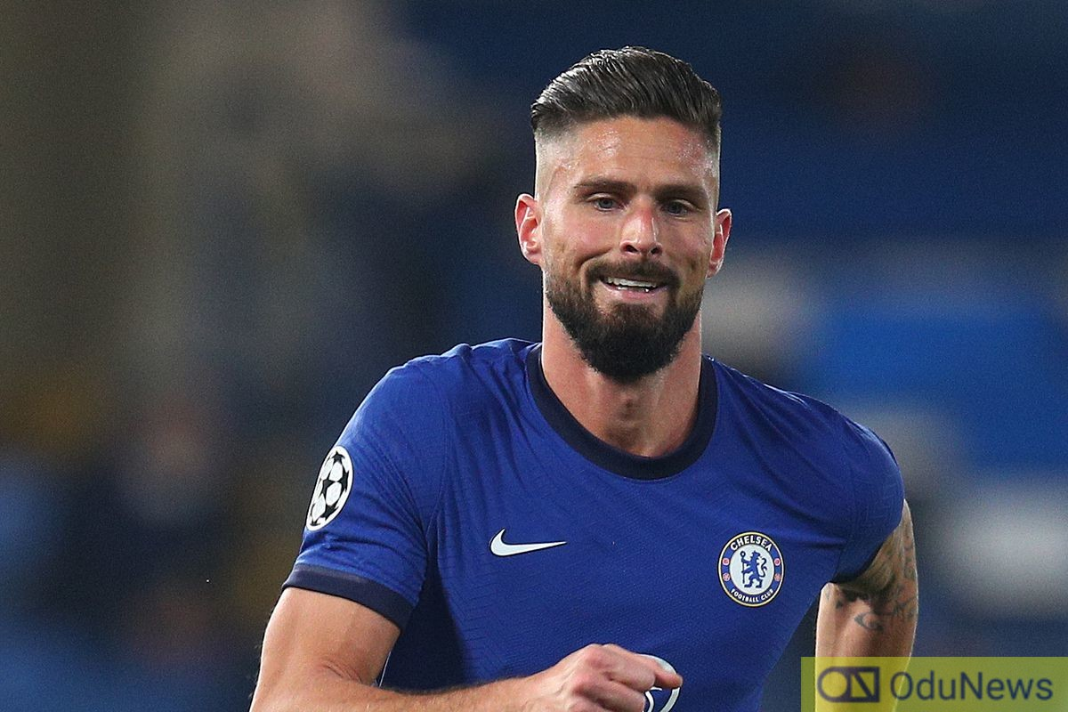 Giroud Overhead Kick Gives Chelsea Edge Over Atletico