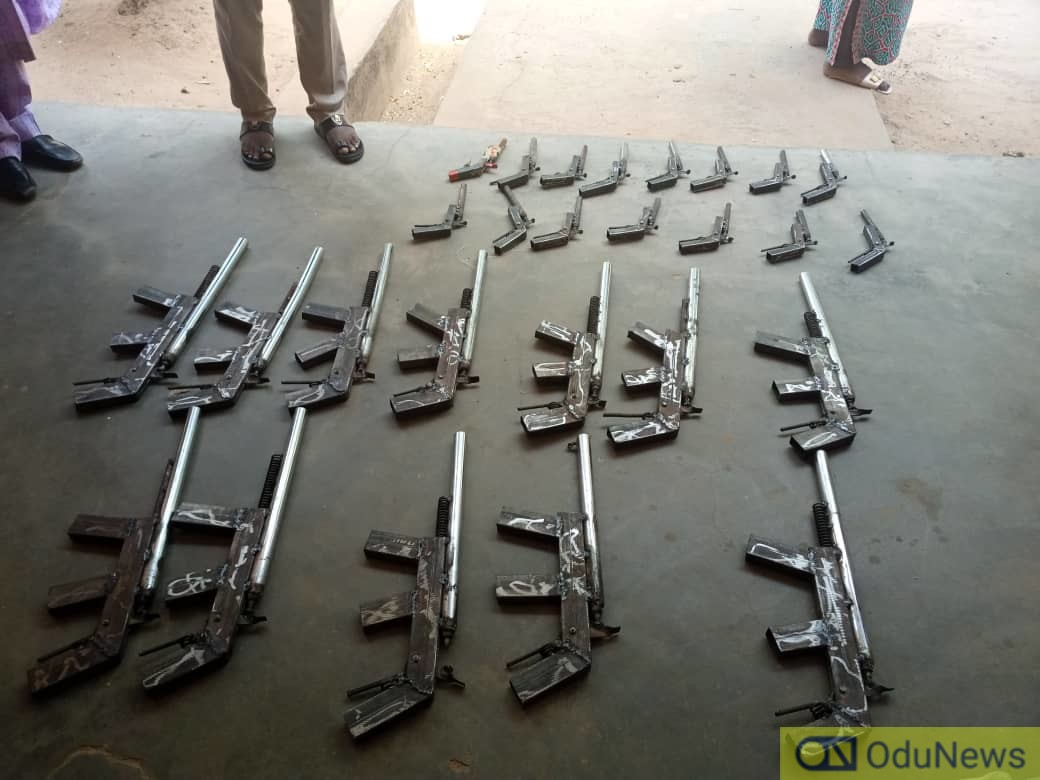 NDLEA Recovers Rifles In Niger, Destroys Hectares Of Cannabis Farm In Ondo