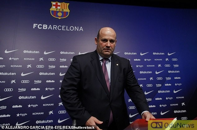 Barcelona CEO Oscar Grau has also been detained by Spanish police in one of four arrests