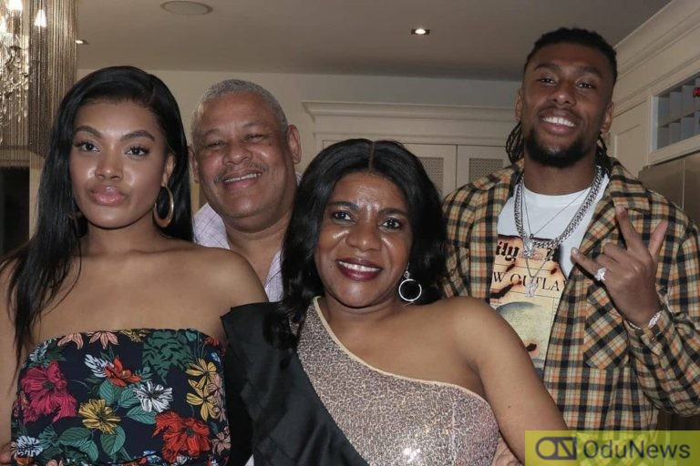 Footballer Alex Iwobi Shares Lovely Photos With His Parents