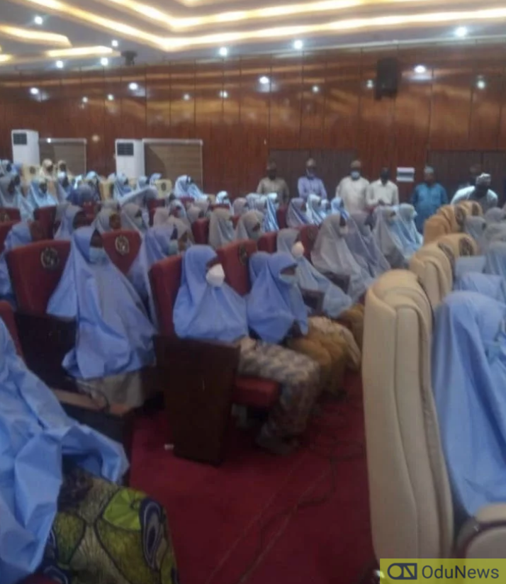 Photos As Zamfara Girls Arrive Government House
