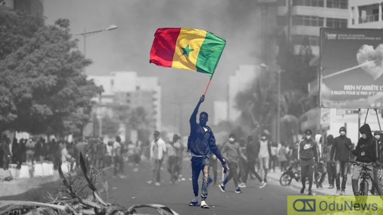 Free Senegal protest