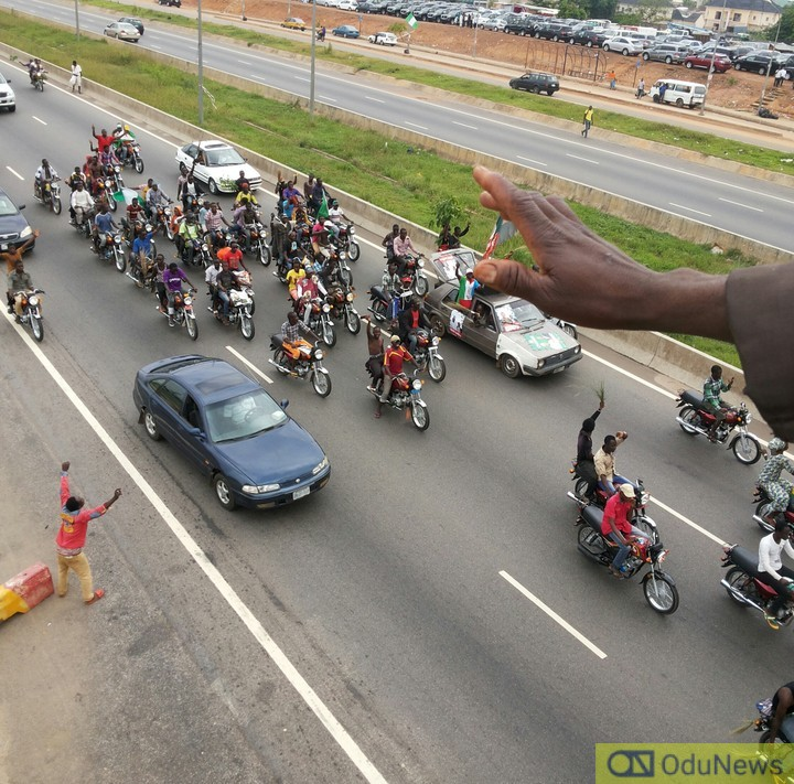 Okada protest in Abuja