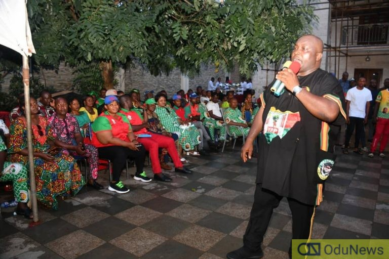YPP Anambra Guber Candidate, Sen. Ifeanyi Ubah Meets Party Structure Leaders