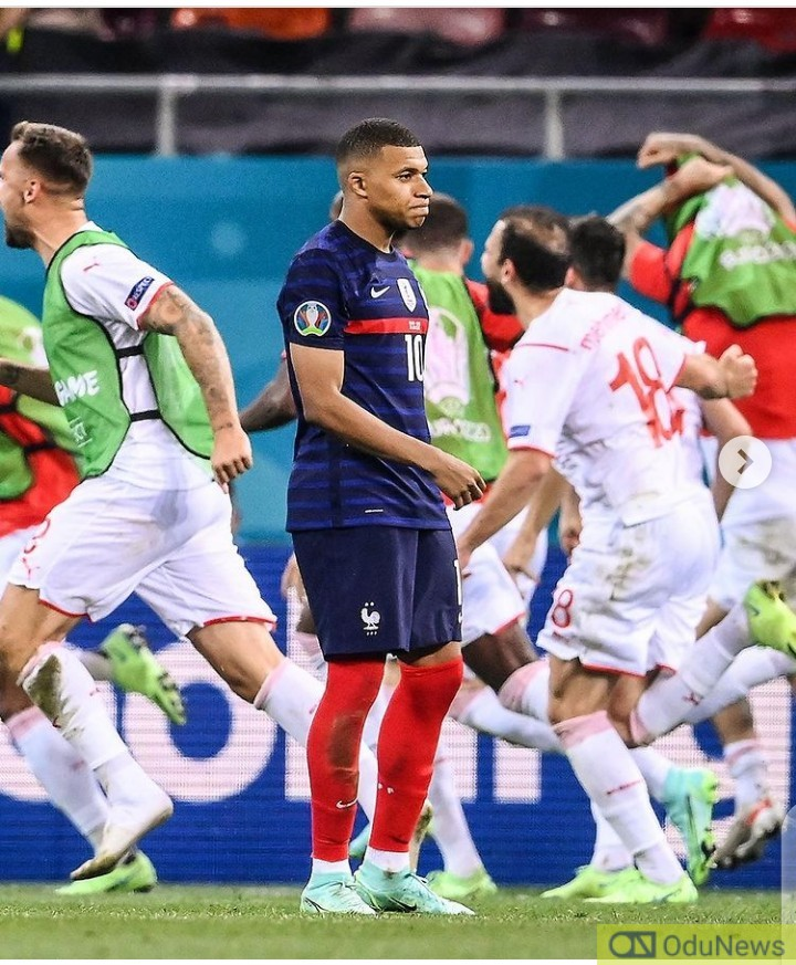 Mbappe loses penalty