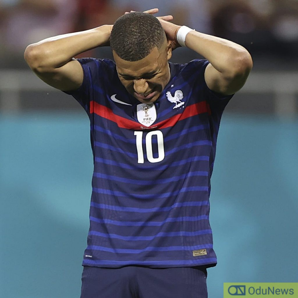 Mbappe Apologises For Penalty Loss