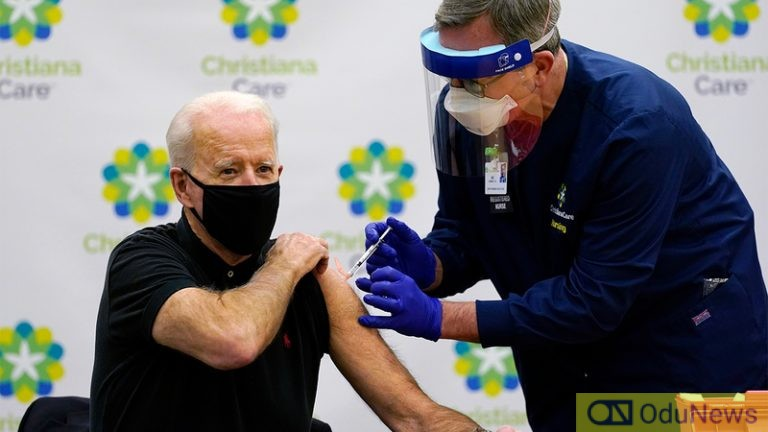 How US Administered 300m COVID-19 Vaccines In 150 days – Biden