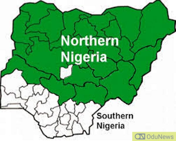 Map showing Northern States in Nigeria