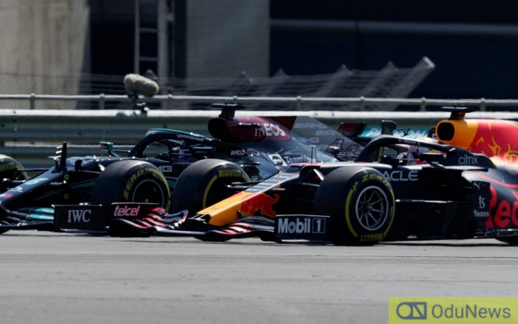 Max Verstappen crashed out of the British Grand Prix after a collision with Lewis Hamilton