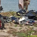 Kathua's SSP Ramesh Kotwal said citing local residents that the chopper crashed in the dam around 10.43 am.(Sourced)